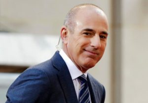 "FILE - In this April 21, 2016, file photo, Matt Lauer, co-host of the NBC ""Today"" television program, appears on set in Rockefeller Plaza, in New York. NBC News announced Wednesday, Nov. 29, 2017, that Lauer was fired for ""inappropriate sexual behavior."" (AP Photo/Richard Drew, File)"